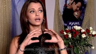 Aishwarya Rai on working with Vivek Oberoi and Amitabh Bachchan