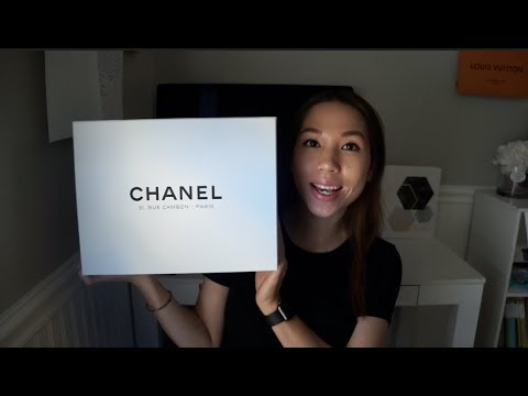 CHANEL BAG REVEAL/ UNBOXING FROM PARIS!!   STYLES BY NGOC