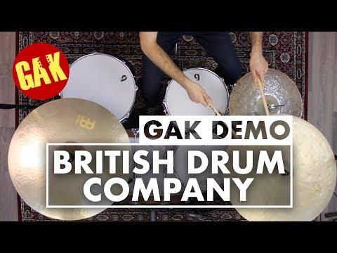 British Drum Company - Lounge Club 22 | Your Dream Drum Kit!