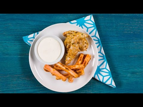 Recipe Makeover: Chicken Fingers and Fries