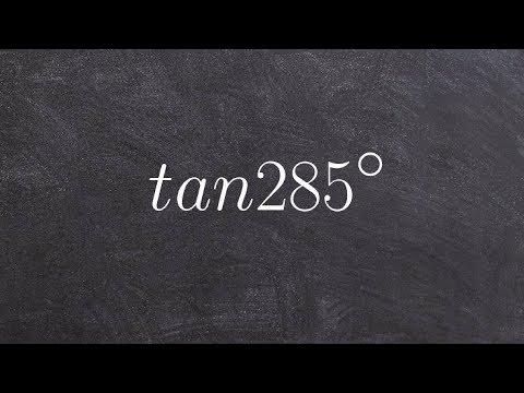 Sum formula for tangent of an  angle trigonometry