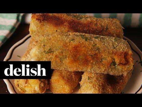 Pickle Mozzarella Sticks | Delish