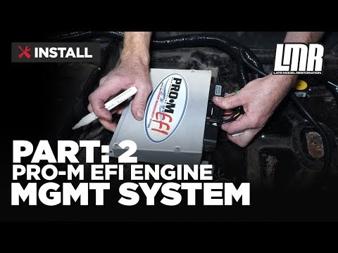 1979-1993 Mustang Pro-M EFI Engine Management System - Part 2