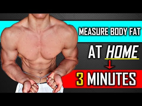 How To Measure Body Fat Percentage At Home Without Calipers (EASY FIX!)