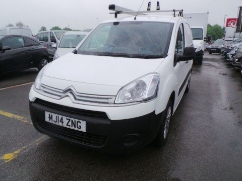 2014 14 Citroen Berlingo 1.6 HDI 90ps 850kg LX L1 - NO VAT - in White