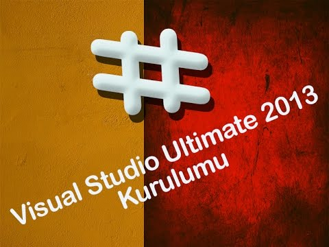 Visual Studio Ultimate 2013 Kurulumu