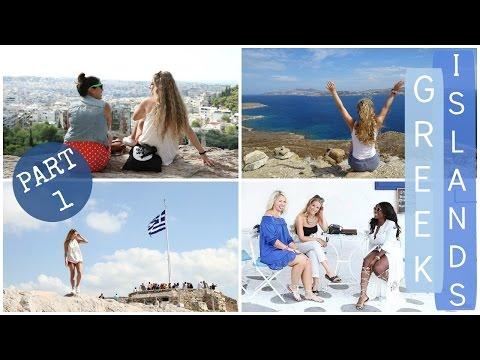 Greek Island Hopping Contiki Vlog // Athens & Mykonos