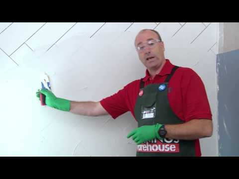 How To Grout Tiles - DIY At Bunnings