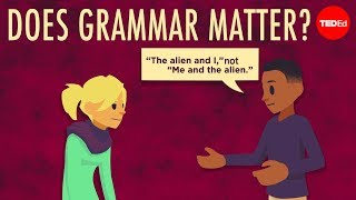 Does grammar matter? - Andreea S. Calude