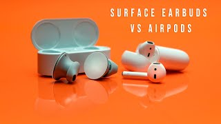 Surface Earbuds vs AirPods Review - Which one is Better!?