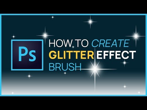 Photoshop CS4: How to Create Your Own Glitter Brush