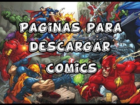 Mejores paginas para descargar comics en español gratis