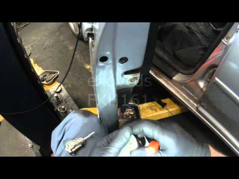 VW A4: Driver Door Lock Cylinder Removal & Install
