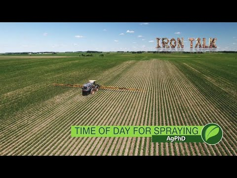 Iron Talk #1050 Time Of Day For Spraying (Air Date 5-20-18)