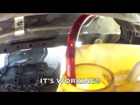 [Electric PUMP] flush automatic transmission fluid Toyota 4Runner √