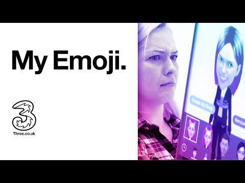 Samsung Galaxy S9 and S9+   AR Emoji; My Emoji   Three (2018)