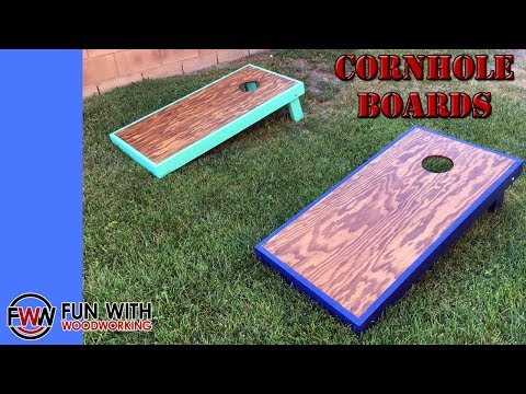 Building my first set of CornHole boards