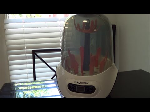 How To Use The Baby Brezza One Step Sterilizer and Dryer. Product Review.
