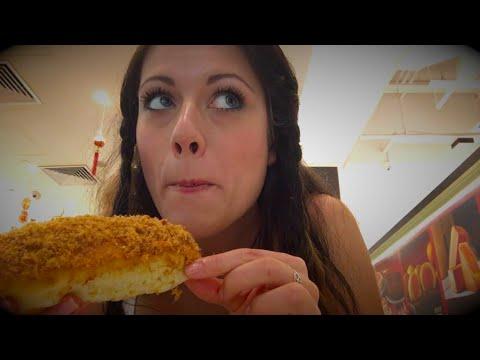Pork Floss / Mash Potato / Sesame Peanut Butter Bun at Imperial Treasure Bakery #carbs
