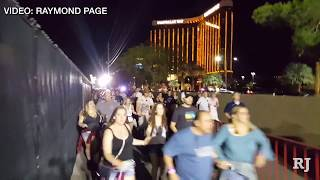 RAW VIDEO: Escape from Las Vegas shooting