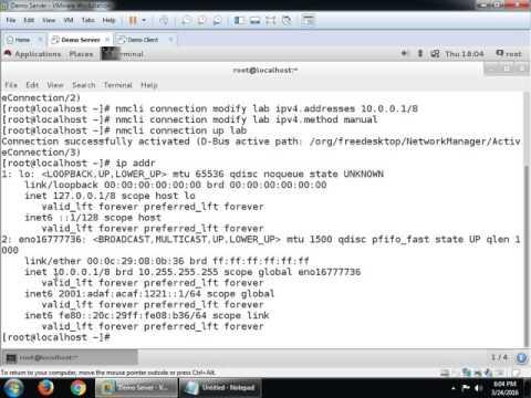 IPv4 and IPv6 with RHEL 7
