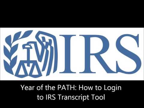 Checking Tax Transcripts: How to check online, and why you'd want to