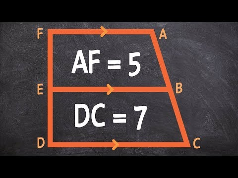 How to solve for the midsegment of a trapezoid