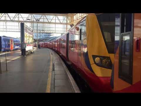 SWR Class 707 012 & 011 Walkthrough at London Waterloo