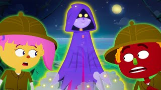 Download Midnight Witch's Stories - Down By The Bay Adventures With Len & Mini | Funny Spooky Nursery Rhymes Video