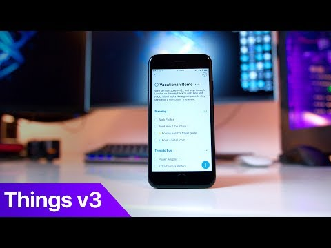 Things 3 - The best GTD app and the most beautiful one