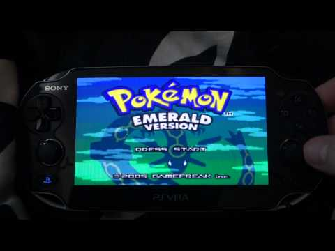 Playing Pokemon on the PS Vita