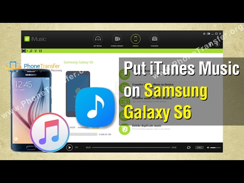 How to Put iTunes Music on Samsung Galaxy S6