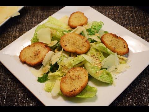 Cesar Salad Recipe, easy and delicious!