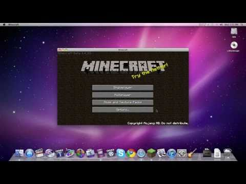 How to Install Minecraft Texture Packs on a Mac Tutorial! Guaranteed!