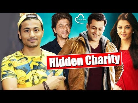Top 10 Celebrities And Their HIDDEN Charity Work   Salman Khan, Shahrukh Khan, Aishwarya Rai