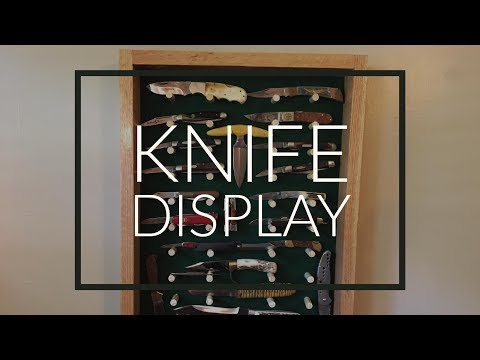 Knife Display | Red Oak