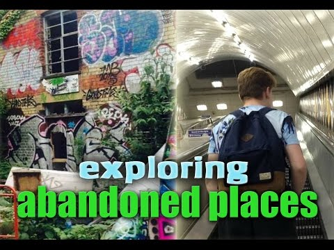 EXPLORING ABANDONED PLACES IN LONDON!
