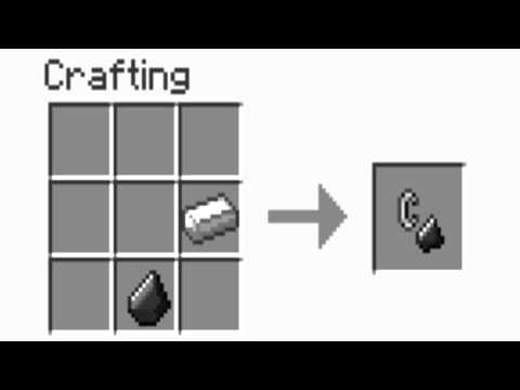 How to make Flint and Steel in Minecraft!