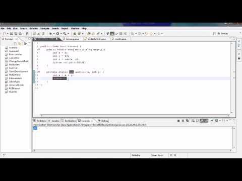 Java Tutorial 12 - Rückgabewert Return & Strings