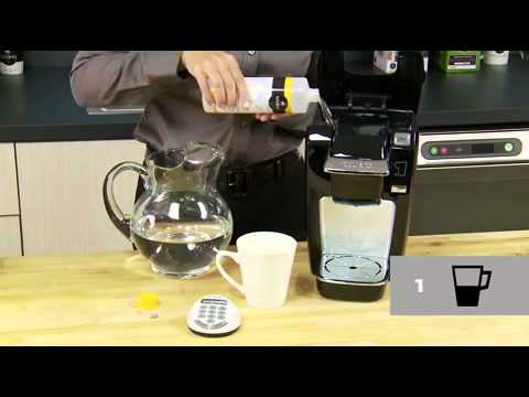 How To Descale Your Keurig Brewer MINI Plus (K10)