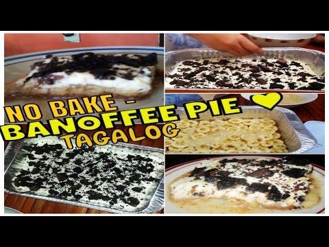 No Bake BANOFFEE PIE (TAGALOG)
