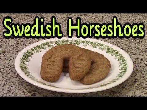 Swedish Horseshoe Cookies (Cookie Week!)