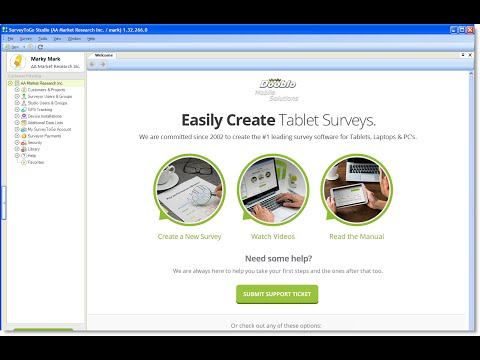 Create a Simple Offline Tablet Survey Using SurveyToGo