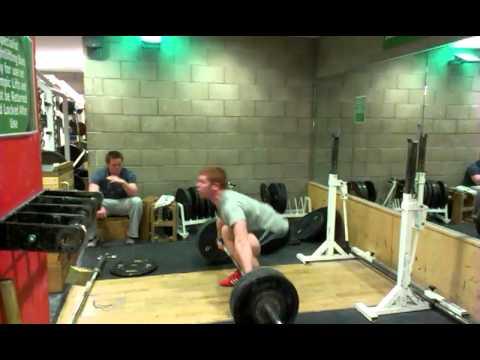Eoin Murphy 111kg Snatch