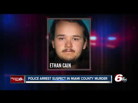 One suspect in Miami County slaying captured in California, second suspect remains on the run