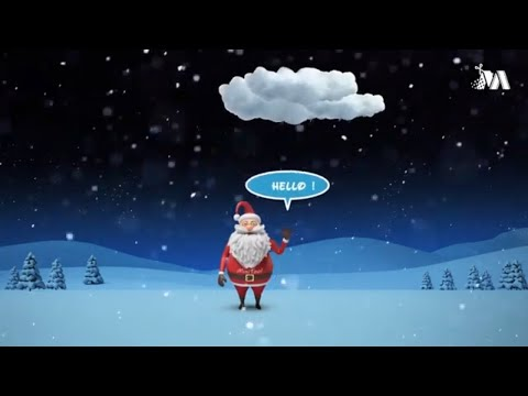 Santa's Visit - Merry Christmas and happy New Year 2019