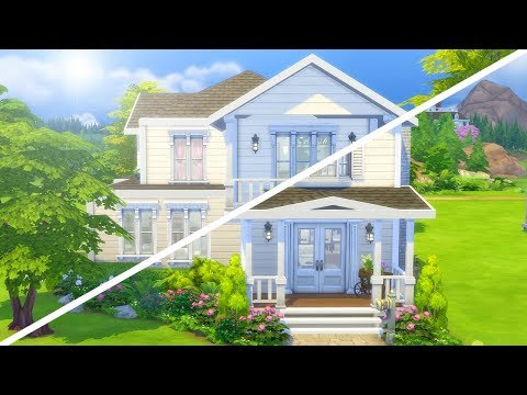 RENOVATING MY FIRST EVER SIMS HOUSE // The Sims 4: Fixer Upper