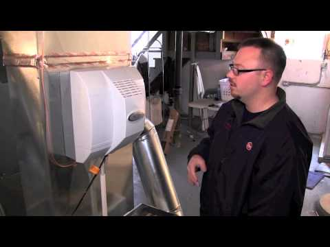How to Replace A Home Humidifier Water Panel - Chicago Humidifier Installation