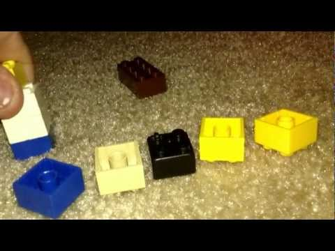 How to make a Lego field goal for football