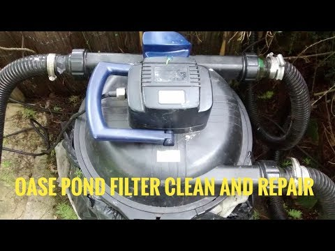 Oase Pond Filter How To Take Apart And Re Assemble